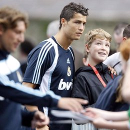 Cristiano Ronaldo, en Irlanda