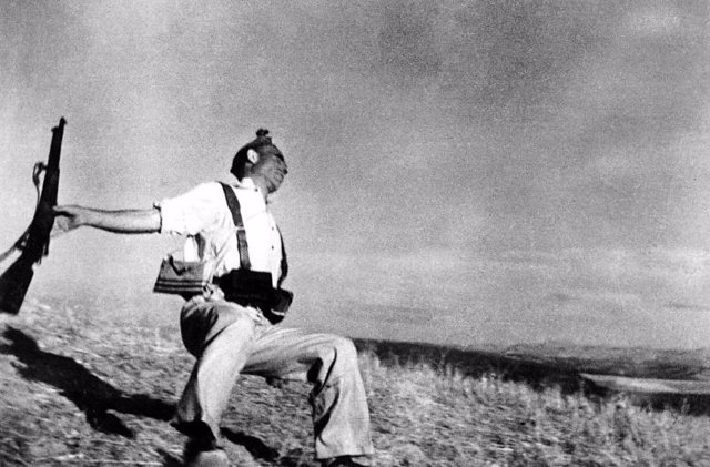 El miliciano de Robert Capa