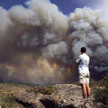 El incendio de Agramunt (Lleida) ya está en fase de control
