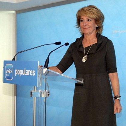 Aguirre dice que el PP debería haber votado en contra del nuevo modelo