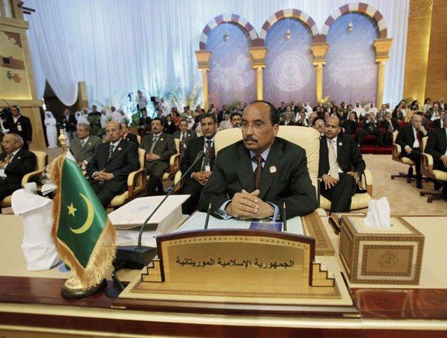 El general Mohamed Ould Abdel Aziz, en Mauritania