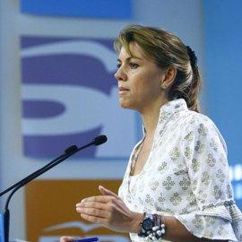Cospedal pide rápida actuación de la justicia, sin aclarar que hará PP si el caso sigue tras declarar Bárcenas