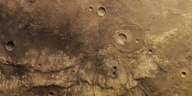 Fotografías de Marte realizadas por la Mars Express de la ESA
