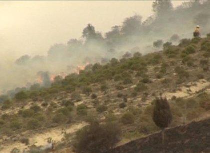 Fallece un operario que trabajaba en las labores de extinción del incendio del Valle del Tiétar