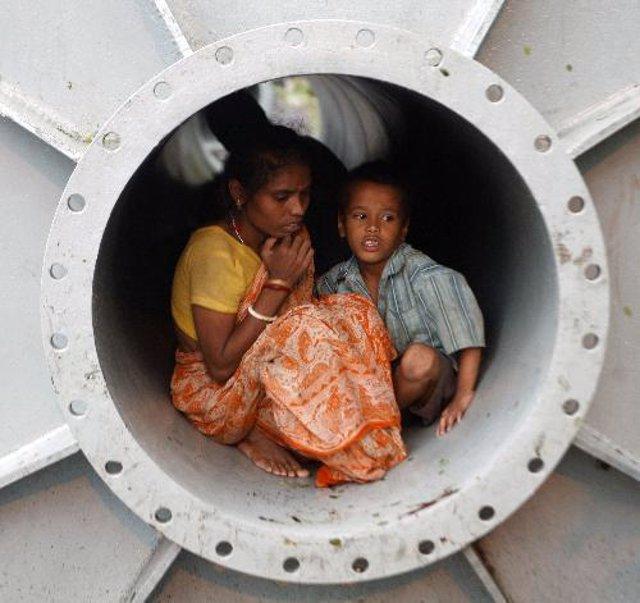 pobreza en India