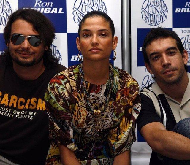 El grupo musical La Quinta Estación