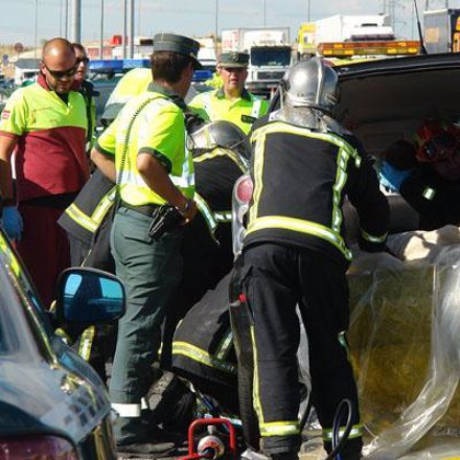 Fallecen 31 personas en la carretera este fin de semana, el de la Virgen de Agosto