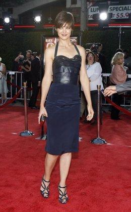 Katie Holmes en el estreno de Tropic Thunder