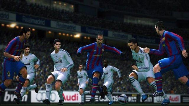 Pantalla de Pro Evolution Soccer 2010
