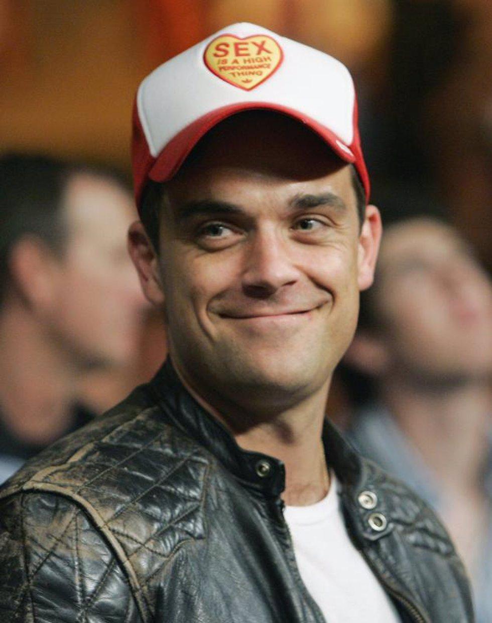Robbie Williams, preocupado por padecer Gripe A