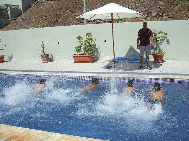 Piscina del centro Valle Tabares, en Tenerife.