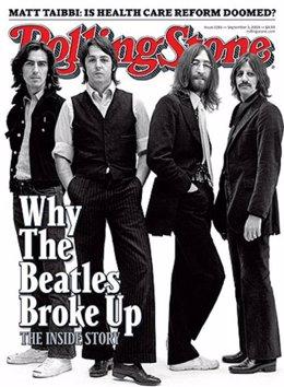The Beatles en la portada de 'Rolling Stone'
