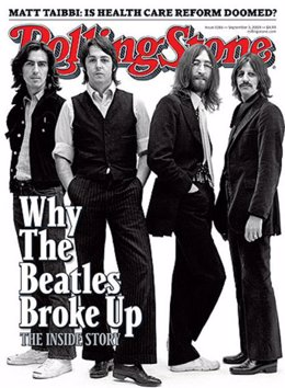 The Beatles en la portada de 'Rolling Stone'