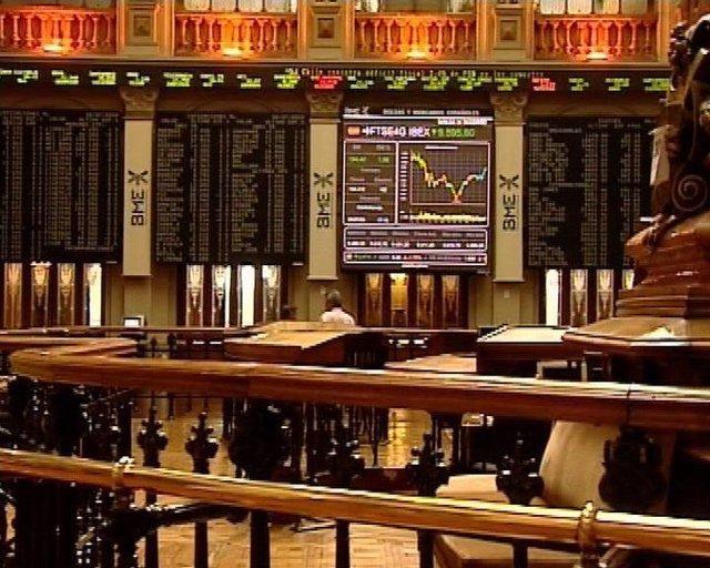 Bolsa de Madrid, paneles del Ibex