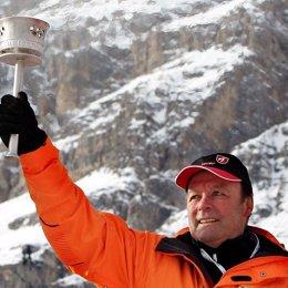 El esquiador austriaco Toni Sailer
