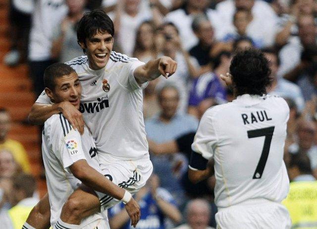 Kaká, Raúl, Benzema
