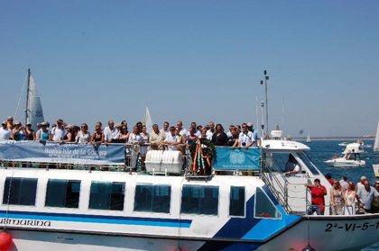 La consejera canaria de Turismo asiste a la salida de la XXV Regata Oceánica Huelva-Isla de La Gomera