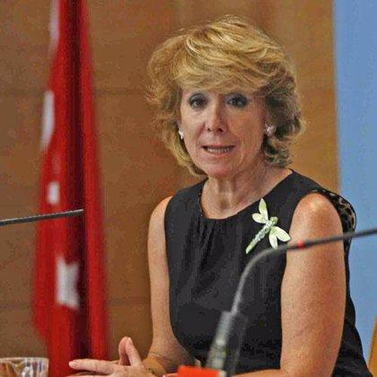 Aguirre garantiza que la Comunidad de Madrid no subirá los impuestos en el tramo autonómico