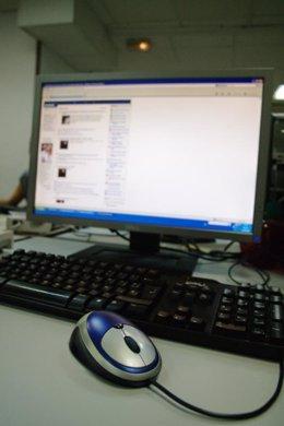 Ratón y pantalla de ordenador