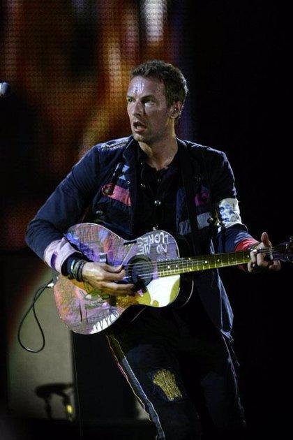 Coldplay recuerda a Michael Jackson en Barcelona