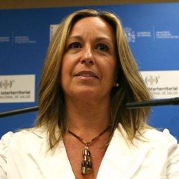 Ministra de Sanidad Trinidad Jiménez