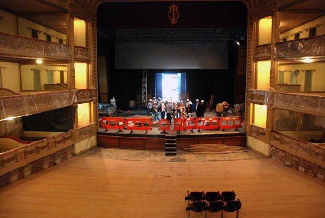 Los trabajos de rehabilitación del Teatro Guimerá de Santa Cruz concluirán en di