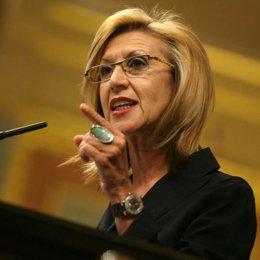 Rosa Díez en el Debate del Estado de la Nación