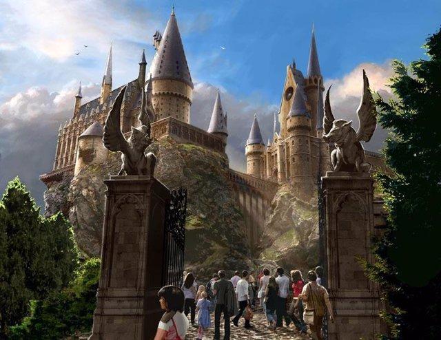 parque temático Harry Potter