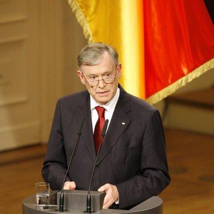 El presidente alemán firma los documentos necesarios para la ratificación del Tratado de Lisboa