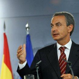 Zapatero en Moncloa