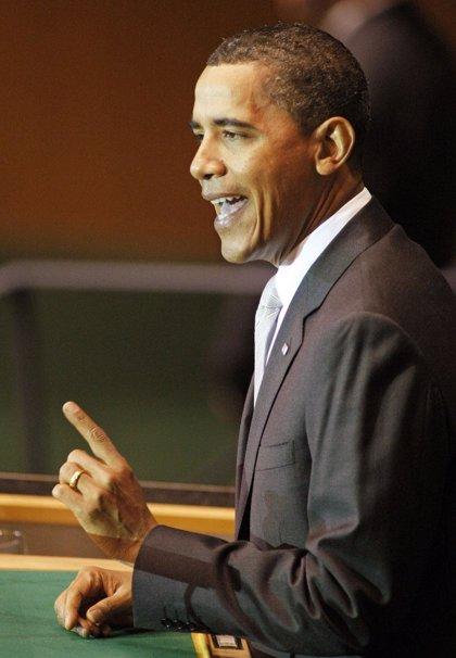 Obama dice que el cambio climático representa una amenaza para la paz