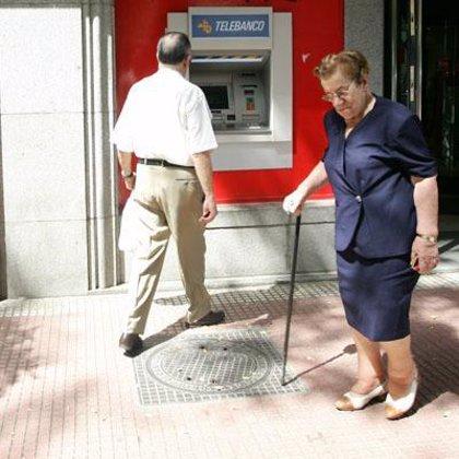 La pensión media de jubilación se situó en septiembre en 857,38 euros al mes, un 4,9% más