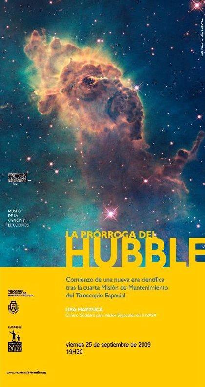El Museo de la Ciencia y el Cosmos de Tenerife acoge hoy una charla sobre el Telescopio Espacial Hubble