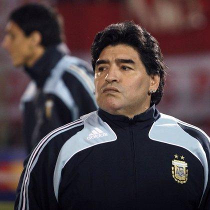 """Maradona: """"Estoy esperando con ansias que se defina todo esto"""""""