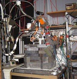Prototipo para detectar materia oscura