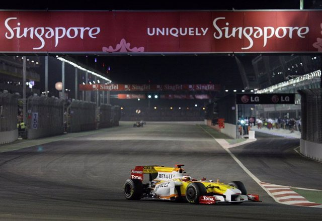 Fernando Alonso, Gran Premio de Singapur