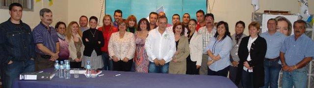Comité local de CC en Candelaria.