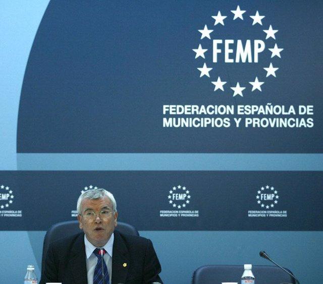 Presidente de la FEMP, Pedro Castro