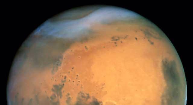 zona polar de Marte