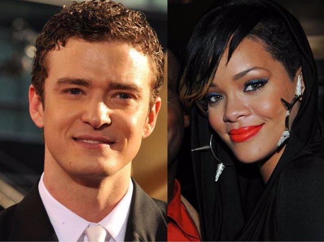 Justin Timberlake y Rihanna