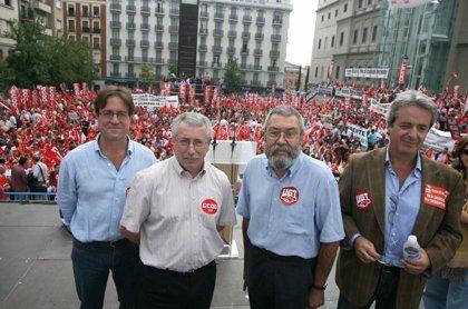 Las críticas a Fernández Ordóñez y a CEOE centran la Jornada por el Trabajo Decente