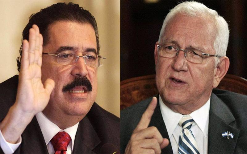 El texto consensuado prevé que el negociador de Zelaya asuma el poder