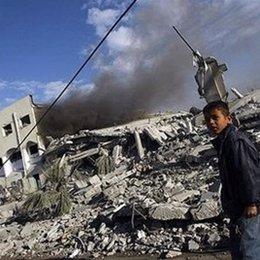 niño en Gaza