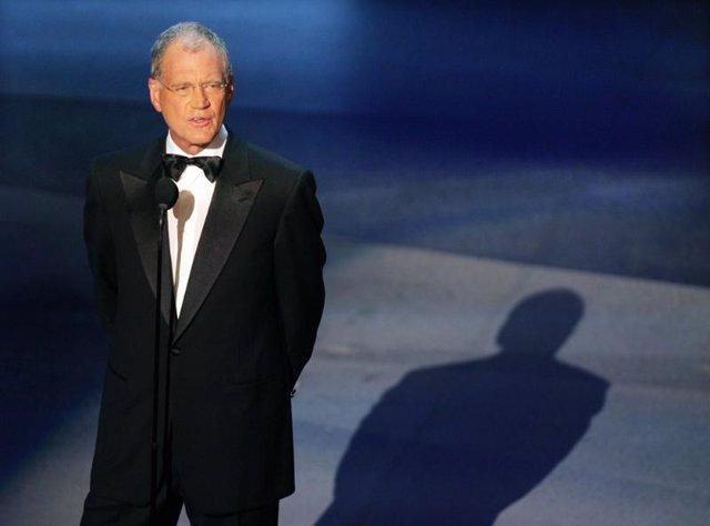 El presentador de la CBS David Letterman