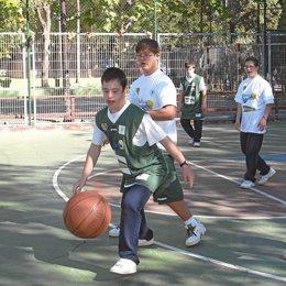 baloncesto discapacidad down