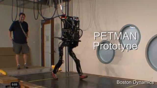 Petman el robot
