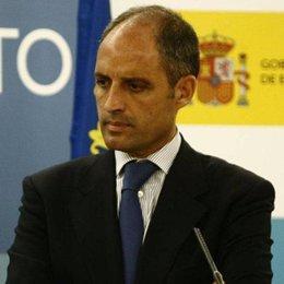 El presidente de Valencia, Francisco Camps