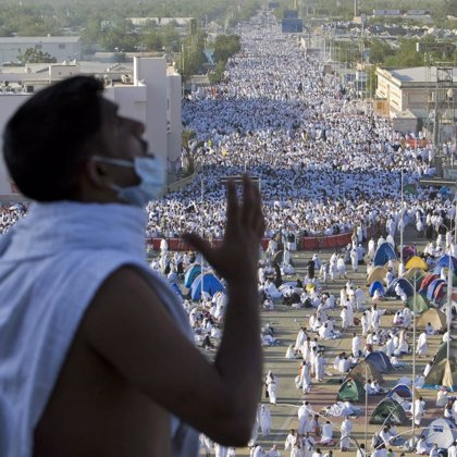 La peregrinación a La Meca expondrá al H1N1 a millones de peregrinos