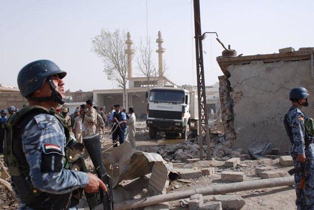 Atentado en Irak con dos bombas