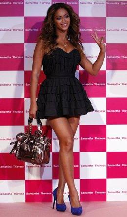 La cantante Beyonce